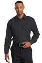 Red Kap Long Sleeve Solid Ripstop Shirt. SY50.