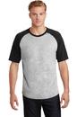 Sport-Tek Short Sleeve Colorblock Raglan Jersey. T201.