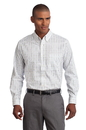 Port Authority Tall Tattersall Easy Care Shirt. TLS642.