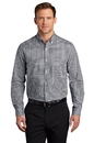 W644 Port Authority Broadcloth Gingham Easy Care Shirt