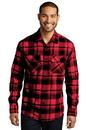Port Authority® Plaid Flannel Shirt - W668