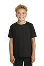 YST400 Sport-Tek Youth PosiCharge Tri-Blend Wicking Raglan Tee