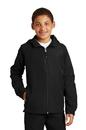 Sport-Tek - Youth Hooded Raglan Jacket. YST73.