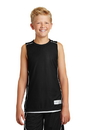 Sport-Tek - Youth PosiCharge Mesh Reversible Sleeveless Tee. YT555.