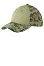 Port Authority Colorblock Digital Ripstop Camouflage Cap. C926.