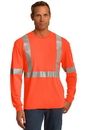 CornerStone ANSI 107 Class 2 Long Sleeve Safety T-Shirt. CS401LS.