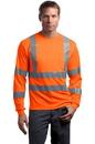 CornerStone - ANSI 107 Class 3 Long Sleeve Snag-Resistant Reflective T-Shirt. CS409.
