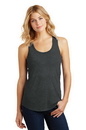 District Made Ladies Perfect Tri Racerback Tank. DM138L.