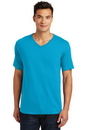 District Mens Perfect Weight V-Neck Tee. DT1170.