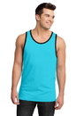 District - Young Mens Cotton Ringer Tank DT1500.