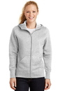 Sport-Tek - Ladies Full-Zip Hooded Fleece Jacket. L265.