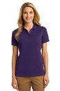 Port Authority Ladies Rapid Dry Tipped Polo. L454.