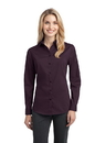 Port Authority - Ladies Stretch Poplin Shirt. L646.