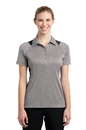 Sport-Tek Ladies Heather Colorblock Contender Polo. LST665