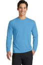 Port & Company Long Sleeve Essential Blended Performance Tee. PC381LS.