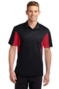 Sport-Tek Tall Side Blocked Micropique Sport-Wick Polo. TST655.