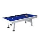Hathaway BG3147 Alpine 8-ft Outdoor Pool Table with Aluminum Rails & Waterproof Felt