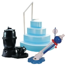 Blue Wave NB986 Ultra Pool Equipment Package 18-ft x 40-ft Oval