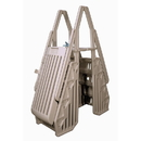 Vinyl Works NE115T Neptune A-Frame Entry System for Above Ground Pools - Taupe