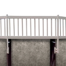 Vinyl Works NE1333 Above Ground Pool Fence Kit (2 Section) - Taupe