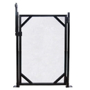 GLI NE186 4-ft x 30-in Safety Fence Gate for In-Ground Pools