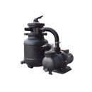 FlowXtreme NE4486 10-in, 25lb Sand Filter System for AG Pools - 1/3HP, 1850GPH - 10, 1/3 HP, 1/3 HP