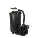 FlowXtreme NE4489 16-in, 100lb Sand Filter System for Above Ground Pools - 16, 1 HP, 1 HP