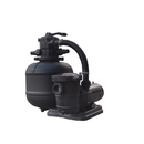 FlowXtreme NE4499 Pro 2 19-in 150lb Sand Filter System 2SP Pump for AG Pools - 19, 1 HP 2SP, 1 HP 2SP