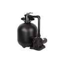 FlowXtreme NE4502 Pro 2 22-in 300lb Sand Filter System 2SP Motor for IG Pools - 22, 1 HP 2SP, 1 HP 2SP