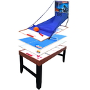 Carmelli NG1016M Accelerator 4-in-1 Multi-Game Table with Basketball, Air Hockey, Table Tennis and Dry Erase Board for Kids and Families