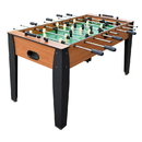Carmelli NG1033F Hurricane 54-Inch Foosball Table for Family Game Rooms with Light Cherry Finish, Analog Scoring and Free Accessories