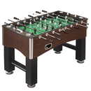Carmelli NG1035 Primo 56-Inch Foosball Table, Family Soccer Game with Wood Grain Finish, Analog Scoring and Free Accessories