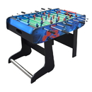 Carmelli NG1148F Gladiator 48-In Foosball Table for Kids with Easy Folding for Storage, Robot Graphics, Ergonomic Handles