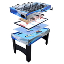 Carmelli NG1154M Matrix 54-In 7-in-1 Multi Game Table with Foosball, Pool, Glide Hockey, Table Tennis, Chess, Checkers and Backgammon