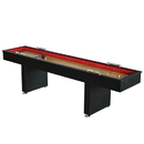 Carmelli NG1203 Avenger 9-Foot Shuffleboard for Family Game Rooms with Padded Gutters, Leg Levelers, 8 Pucks and Wax