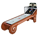 Carmelli NG2019SK Boardwalk 8-ft Arcade Ball Table for Family Game Rooms with LED Track Lighting, Scratch-Resistant Playfield