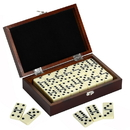 Carmelli NG2133 Premium Domino Set w/ Wooden Carry Case