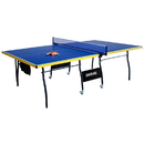 Carmelli NG2325B Bounce Back Table Tennis - Regulation-Sized 9-Foot with Foldable Halves for Individual Play