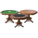 Carmelli NG2351T Kingston Oak 3-in-1 Poker Table