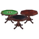 Carmelli NG2366T Kingston Walnut 3-in-1 Poker Table