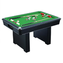 Carmelli NG2404PG Renegade 54-In Slate Bumper Pool Table for Family Game Rooms with Green Felt, 48-In Cues, Balls, Brush and Chalk