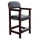 Carmelli NG2556W Cambridge Spectator Chair - Antique Walnut Finish