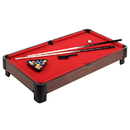 Carmelli NG4012TR 40-in Table Top Pool Table - Red