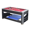 Carmelli NG5001 Triple Threat 6-ft 3-in-1 Multi Game Table