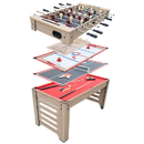 Carmelli NG5017 Madison 54-in 6-in-1 Multi Game Table