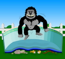 Blue Wave NL130 12-ft x 24-ft Oval Gorilla Pool Floor Padding