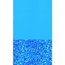 Swimline NL302-20 Blue Swirl Standard Gauge Overlap Liner - 48/52-in Deep - Oval / 15-ft x 24-ft / 48/52-in