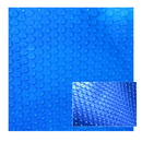 Blue Wave NS415 Blue Wave 12-mil Solar Blanket for Rectangular 16-ft x 24-ft In-Ground Pools - Blue