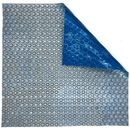 Blue Wave NS56557 14-mil Solar Blanket for Rectangular In-Ground Pools - Silver and Blue - Rectangular / 20-ft x 44-ft