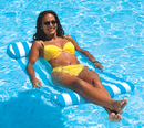 Blue Wave NT1240B Blue Island Water Hammock Pool Float